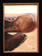 Boots: Oil on canvas: SOLD